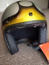 NEW Fulmer Open Face helmet, V2 Bubble Gold