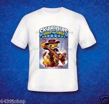 SKYLANDERS SWAP FORCE T SHIRT, BRAND NEW CHARACTERS.