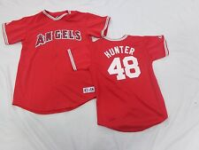 Los Angeles Angels Jersey Torii Hunter Youth Red