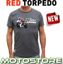 RED TORPEDO PRIMO PIES & PODIUMS OFFICIAL T-SHIRT GRAPHITE JOHN MCGUINNESS TT