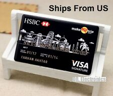 Credit Card Model Visa 4GB/8/16GB/32GB USB 2.0 Memory Stick Flash Pen Drive UBc