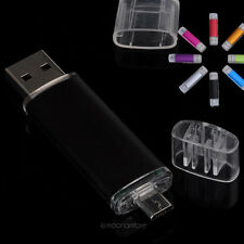 CLE 2 in1 USB/Micro USB key 8 GO 8 GB Clé Mémoire Flash Drive Pen U Disk OTG PC