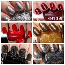 Essie Christmas GLITTER Nail Varnish Collection and LUXEFFECTS 13.5ml bottles