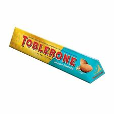 Toblerone Crunchy Almond Limited Edition 400g Milk Chocolate Bar Christmas Gift