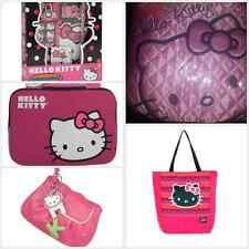Hello Kitty Boxed Secrets Diary Pen Lock Tablet Sleeve Purse Clutch Tote Pink