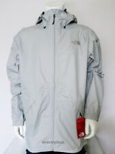 NWT THE NORTH FACE Men's Bakossi Rain Jacket Hoodie HIGH RISE GREY MSRP $129