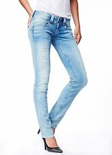 WOMAN JEANS PEPE VENUS E41 L32 STRAIGHT LEG REGULAR LOW NEW COLLECTION 2015
