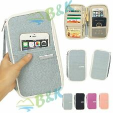 "Gift 7.9""ipad mini Kindle Case Travel Cards Passport Holder Wallet Purse Handbag"