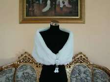 Wide V-Necked Fur Cape Wrap Best For Bride Style 107