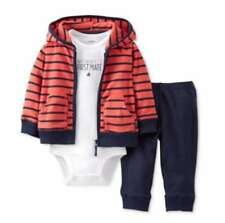 Carter's Baby Boy Clothes nautical hoodie First Mate bodysuit set NB 3 6 9 12Mos
