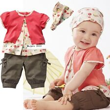 Kids Clothes Baby Girl Clothes Baby Set Baby Kids Newborn Girl Clothes 0- 3T TY4