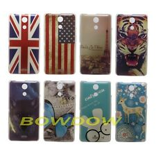 UK US Tiger Girl wolf back hard case cover For Sony Xperia ZR M36h C5502 C5503