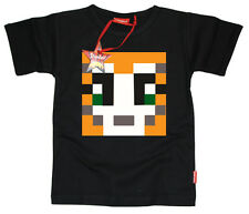 Kids Childrens Boys Girls Mens Stampylongnose Stampy YouTube T-Shirt (Black)