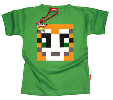 Kids Childrens Boys Mens Mr Stampy StampyLongHead YouTube T-Shirt Gift (Green)