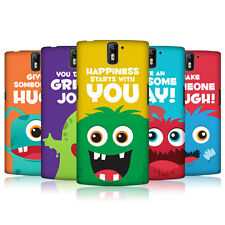 HEAD CASE DESIGNS MOTIVATIONAL MONSTERS CASE COVER FOR ONEPLUS ONE