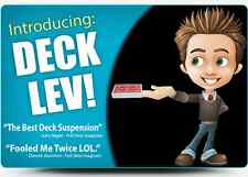 Deck Lev - Best Deck Suspension Card Trick Available Anywhere - On Bicycle Cards