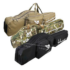 1.2m Hunting & Shooting Carry Case Rifle Airsoft Gun Slip Padded Double Bag UK
