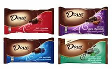 Dove Promises Milk - Dark - Mint - Almond Chocolate Candy 4 Bags