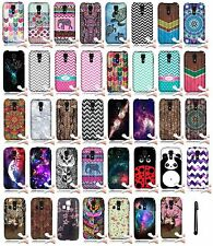 For Kyocera Hydro Icon C6730 Life C6530 TPU Rubber Cover Phone Protector Case