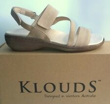 Klouds shoes - Orthotic friendly comfort leather Sandals - Atoll