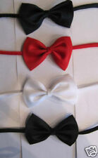 boys kids Bow Tie red black blue childres's age 1 - 4 years new
