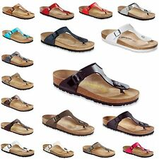 Birkenstock Classic Gizeh - contoured footbed, Regular - many Colors NEW Germany