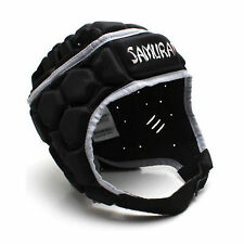 Samurai Mens Contour Elite  Rugby headguard in Black