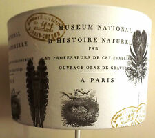 Shabby Chic lampshade Birds nest botanical french country script  lounge bedroom