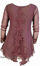 Pretty Angel Clothing Alexandra Tunic In Mauve *10709MV