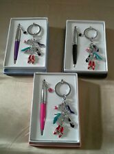 Girly Chic Pen & Keyring - Cascade of Shoes - Great Gift - New & Boxed