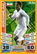 Match Attax England 2014 World Cup Trading Cards (IRAN-Base) 143