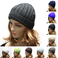 Knit Fashion Men's Women's Beanie Winter Hat Ski Skull Cap Chic Unisex Design