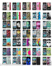 New Solid Design Style Slim Hard 2 Piece Snap On Cell Phone Case Cover Accessory