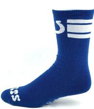 Indianapolis Colts Football Men's Crew Socks Blue White