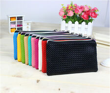 Women's Lady Wallet Card Coin Holder Long Wallet Clutch Zipper Purse