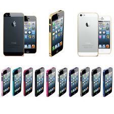 Aluminium Metal Steel Hard Skin Case Cover Bumper Protector For Apple iPhone 5S