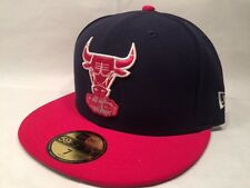 New Era Chicago Bulls NBA Two Tone Basic 59FIFTY Fitted Cap Hat $35 Purple Pink