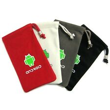 Android Phone Cloth Pouch Case For Motorola RAZR D1 XT916 / XT918