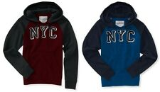 AERO Aeropostale Mens NYC Logo Colorblock Hoodie Hooded Sweatshirt 3XL NEW NWT