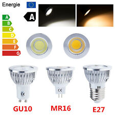 Dimmable 6W 9W 12W MR16/GU10/E27 Ultra Bright LED COB Spotlight Down Light Bulb