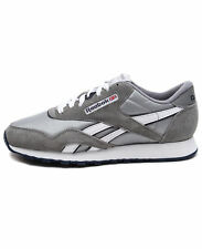 Reebok Classic Nylon Platinum/Jet Blue Brand New Authentic 36088