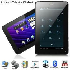"""PHABLET Unlocked GSM Android PC 7"""" Tablet PHONE BLUETOOTH DUAL Camera with FLASH"""