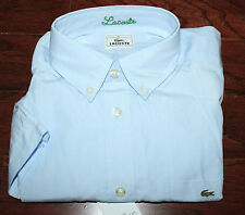 AUTH $75 Lacoste Boy Blue Short Sleeve Shirt