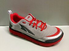NEW Men's Altra Zero Drop Footwear Instinct 3 Running Shoes - Silver/Red - A1533