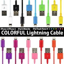 Lot Lightning Charger & Data Sync Cable for Apple iPhone 6 5 5S 5C 1m 2m 3m 0.1m
