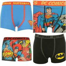 Boys Superhero Superman Batman Boxers Shorts Underwear Underpants~Age 5-13 years