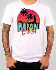 T-shirt Miami Beach - See Sex and Sun - Plage vacance surf S, M, L, XL, XXL