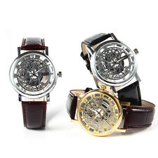 Fashion Dress Watch Mechanical Watches Antique Surface Pointer Seconds Men's