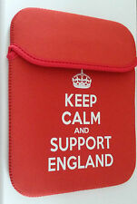 """10"""" Keep Calm and support Tablet Sleeves Various Colours & Designs B2G1 FREE!"""