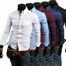 New Designer Collections Luxury Mens Slim Fit Casual Formal Shirt SH025